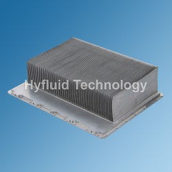 Copper Heat Pipe Skive Heat Sink for Microwave Device