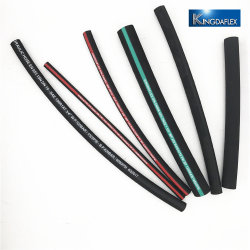 Oil Resistant One High Textile Braid Synthetic Rubber 1sn R1at Hydraulic Hose
