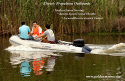 Golden Motor Innovation Electric Outboard Motor 3HP-20HP