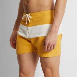 MID Short Length Color Block Swim Shorts