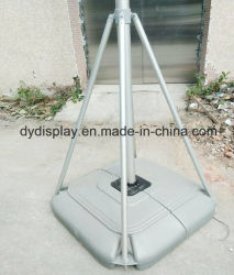 Outdoor Giant 5m Flagpole Advertising Stand with Water Base