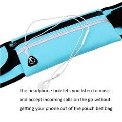Waterproof Sport Runner Waist Running Jogging Belt Pouch Bag