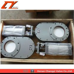 High Performance Pneumatic Ceramic Double Knife Gate Valve
