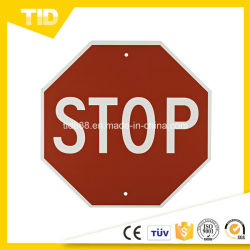 Stop Sign Reflective Label for Traffic Safety