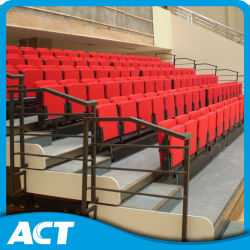 Indoor Telescopic Retractable Bleacher System with Soft Folding Chair
