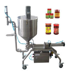 Granular Slurry Chilli Mushroom Butter Paste Filling Machine