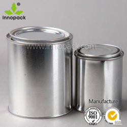 Small Round Tin Can Packaging Stoage Containers for Chemical