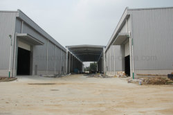 Light Prefabricated Steel Structure Building for Workshop