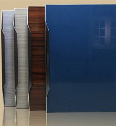 Futuristic Acrylic Cabinet Doors Remodelling