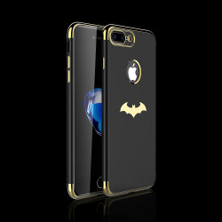 Phone Accessories Laser Electroplated Luxury Simple TPU Cell Phone Cases for iPhone