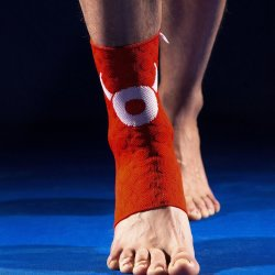 High End Sports Protective Equipment Breathable Ergonomic Ankle Support