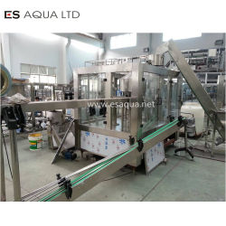 Mineral Water Plant Production Line Small Bottle 5L 10L Bottle Washing Filling Capping Labeling Packing Machine