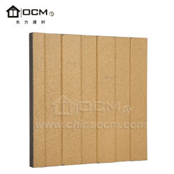 Water Resistant Decoration Panel Fiber Cement Wall Cladding