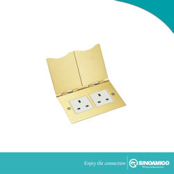 Sinoamigo Brass Alloy Open Type Floor Box
