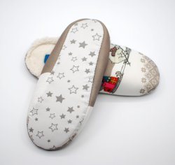 081fff994 Laddy&Women Comfort Knitted Cotton Slippers Washable Flat Closed Toe Ultra  Lightweight Indoor Shoes with Non-
