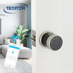 Zinc Alloy APP Biometric Fingerprint Door Lock WiFi Digital RFID Electronic Code Door Lock Waterproof Keypad Smart Door Lock