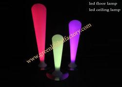 Modern Illuminated LED Floor Lamp, Plastic LED Furniture
