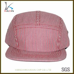 44520131b5131 Custom Blank Plain Stripe 5 Panel Hat for Children