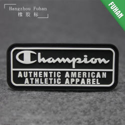 Sport Style Clothing PVC Rubber Patch
