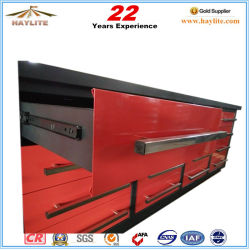 10FT 20 Drawer Metal Tool Storage Workbench with Double Rail