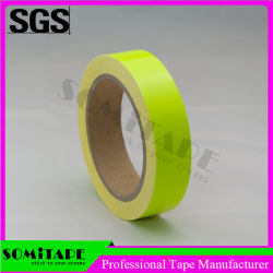 Somi Tape Sh504 Waterproof Yellow Color Neon Removable Tape for Warning Purpose