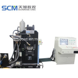 Automatical Punching, Marking and Shearing Machine for Striped Steel