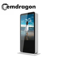 ODM Advertising Screen Advertising Player 43 Inch Ultrathin Vertical Advertising Kiosk LED Digital Signage