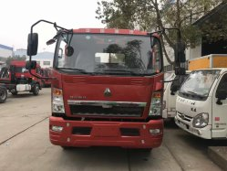 5 Ton Medium Duty Low Bed Truck for Engineering Machine Transport Excavator Carrier Lorry