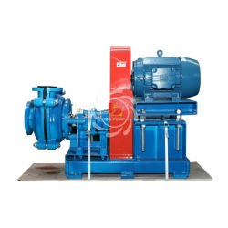 Single Stage Centrifugal Gold Mining Slurry Pump with Electric Motor Drive