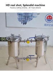 Food Grade Duplex Series Bag Filter for Oil Housing