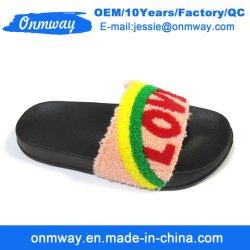 d53c8a054 Fashion Woman Sheepskin Soft Fur Slippers Winter Warm Indoor Slipper