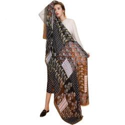 0c6885061a6 Femme Bandana Cotton Linen Head Scarf Hijab Women Scarves Stoles Shawls  Pashmina for Ladies Wraps Cashew