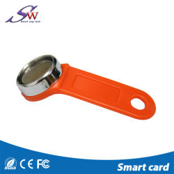Smart ABS Practical Waterproof RFID Keychain Em4305 with Iron Ring