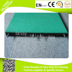 50*50cm Wholesale Rubber Flooring Used Playground Tiles