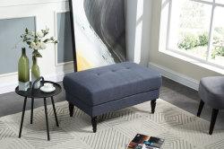 Home Furniture Soft Tufted Fabric Ottoman