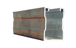 Hot DIP Building Matrerial PPGI Galvanized Steel for Steel Channel Support System with Punched Hole