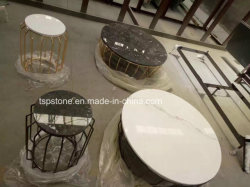 Solid Granite/Marble Stone Coffee/Dinner Table Top for Hotel and Garden Furniture