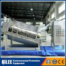Stacked Sludge Dewatering System for Oily Slurry