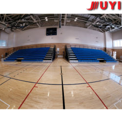 Factory Telescopic Seating System Cheap Plastic Bench Chair Basketball Sports Stadium Seats Telescopic Seating System