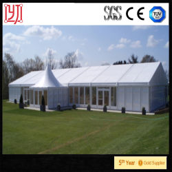 Flat Roof Tents for High Class Events, White Laxury Party Tent for Sale