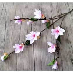 Wholesale silk flower decoration china wholesale silk flower artificial orchid silk flower stcik magnolia wedding fashion art decoration mightylinksfo