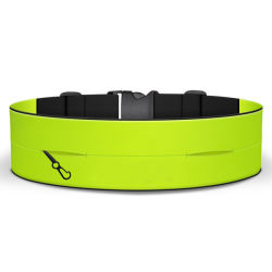 2020 Wholesale Colorful Cheap Outdoor 5K Sport Running Belt Waist Bag with Custom Logo