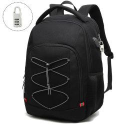 Men Outdoor Anti Theft Safety Bagpack Bag Black Fashion Sports Leisure Travel 2020 Soft Wholesale Custom Laptop Backpack