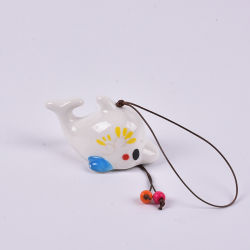 Processing Customized Various Cartoon Character Creative Ceramic Small Bells