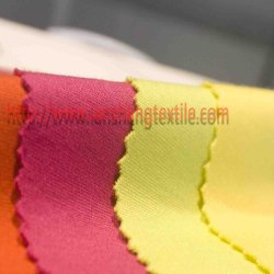 Dyed Knit Spandex Rayon Nylon Fabric for Sport Suit Dress