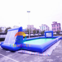 Commercial Grade Inflatable Football Field Court for Sport Games