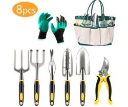 Hot Sale Wholesale Garden Hand Tools Set Outdoor Multi Pocket Gardening Tool for Bike Repair Kit Holder Polyester Bag, Many Kinds of Collocation