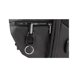 Junyuan OEM Fashion Leisure Travel Sport Laptop Tablet USB Charger Backpack Bag for Computer