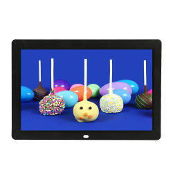 Wholesale Factory 12 Inch Mini Digital Photo Frame with SD Card Slot