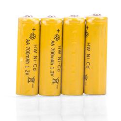 Best Price 1.2V 700mAh AA Rechargeable Nickel Cadmium Battery